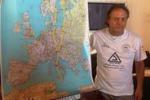 L'impresa del gelese Alabiso: in volo dalla Sicilia a Capo Nord