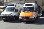 Caltanissetta, bus fermi per protesta