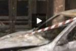 Tgs, incendiata auto a Gela: fiamme in una palazzina vicina
