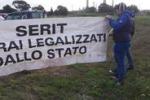 Forconi, presidio a Gela: le immagini