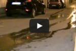 Condotta idrica guasta, a Gela l'acqua finisce in strada