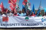 Eni, la protesta si sposta al metanodotto libico di Gela