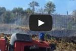 Incendio a due passi dal Porto Rifugio di Gela
