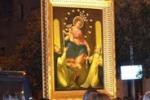 La sacra tela della Madonna di Pompei a Macchia di Giarre