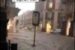 Nubifragio su Catania, le immagini