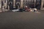 Nubifragio a Catania: le immagini