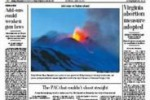Etna in prima pagina sul Washington Post