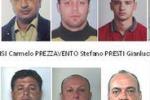 Blitz antimafia a Catania, i volti degli arrestati