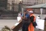 Giarre, senza stipendio da oltre 3 mesi: sit-in dei dipendenti Aimeri
