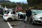 Incidente a Enna, morte tre ventenni catanesi. Le immagini