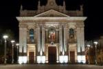 """""""Eppur si muove"""", videomapping alla basilica di Riposto"""