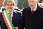 Napolitano, le immagini della visita a Catania