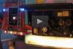 Principio di incendio in un pullman sulla Messina-Catania