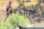 Covo di latitanti scoperto a Belpasso, le immagini