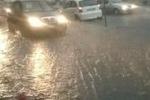 Nubifragio a Giarre e Riposto: traffico in tilt e danni