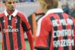Magliette del Milan contro il razzismo