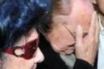 L'addio a Mariangela Melato, le lacrime di Arbore