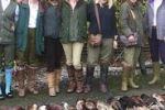 Pippa va a caccia insieme alle amiche