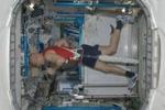 """La foto. Corsa a 90 gradi, l'allenamento """"spaziale"""" di Luca Parmitano"""