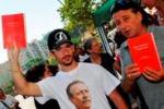 Palermo, in via D'Amelio i giovani ricordano Borsellino