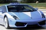 A Caltanissetta la Lamborghini della polizia