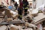 Crollo a Palermo, le immagini dei soccorsi