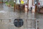 LA FOTO. Il mare invade Lipari