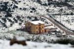Neve e magia sulle colline di Palermo