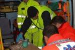 Agguato nell'Agrigentino, le immagini dei soccorsi