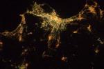 Palermo vista dallo spazio