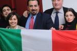 Unita' d'Italia, il tricolore agli studenti