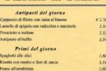 Il menu' del Senato: un primo 1,60 euro