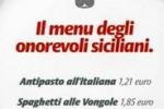 Ars, per i deputati pranzo a 9 euro. Guarda il menu