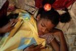 LA FOTO. Uragano ai Caraibi: bimbi al riparo