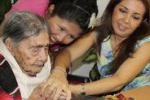 Festa in Messico, Leandra compie 124 anni