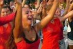 """""""Palermo vola"""", flash mob al Politeama"""