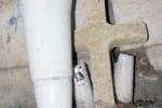 Palermo, vandalizzata la croce in memoria di Fragala': le immagini