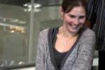 Amanda e' partita: le immagini dall'aeroporto