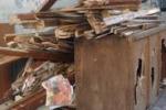 Cronache loro. Mobili, sedie e rifiuti: discarica a Palermo