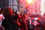 Palermo, studenti in piazza contro i tagli: le immagini