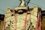 Palermo, rimossa l'installazione ai Quattro Canti