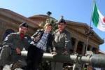Le Forze Armate e i bambini: la festa a Palermo