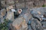 Vento a Palermo, gli scatti del crollo a Porta Montalto