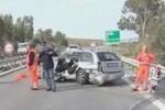 Da Tgs, incidente mortale sulla Palermo-Trapani