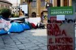 """Gli """"Indignati"""" di Palermo occupano piazza Verdi"""