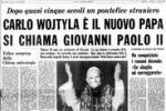 Le prime pagine del Giornale di Sicilia dal divorzio a Mattarella