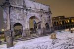 Notte di neve, Roma torna tutta bianca