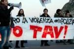 No Tav, le immagini della protesta di Palermo