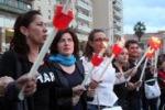 Falcone, catena umana circonda il tribunale di Palermo
