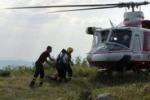 Bimbo morto in gita, le immagini dei soccorsi